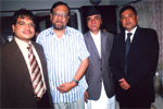 (From left) Mr. Bikash Agarwal (Executive Director - Revive Nepal Pvt. Ltd.), Honorable Minister of Nepal for Finance Dr. Ram Saran Mahat, Ex- Prime Minister of Nepal Sher Bahadur Deuba & Mr. Sanjay Nirala (Managing Director - Revive Nepal Pvt. Ltd.), 12th Aug, 2009